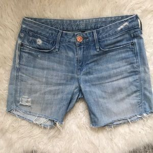 Earnest Sewn Cut Off Denim Shorts